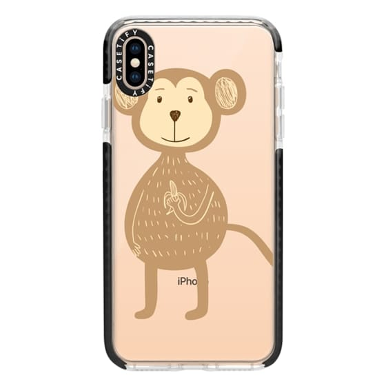 iPhone XS Max Cases - Monkey and Banana