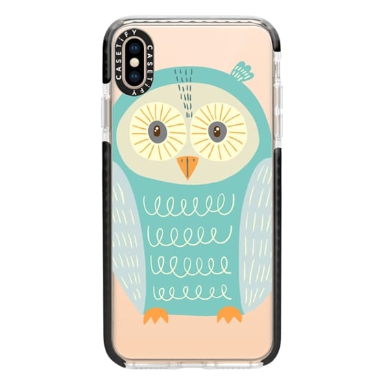 iPhone XS Max Cases - Owl