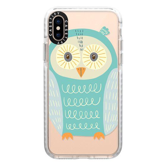 iPhone XS Cases - Owl