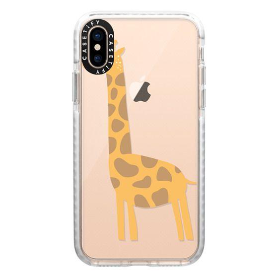 iPhone XS Cases - Giraffe