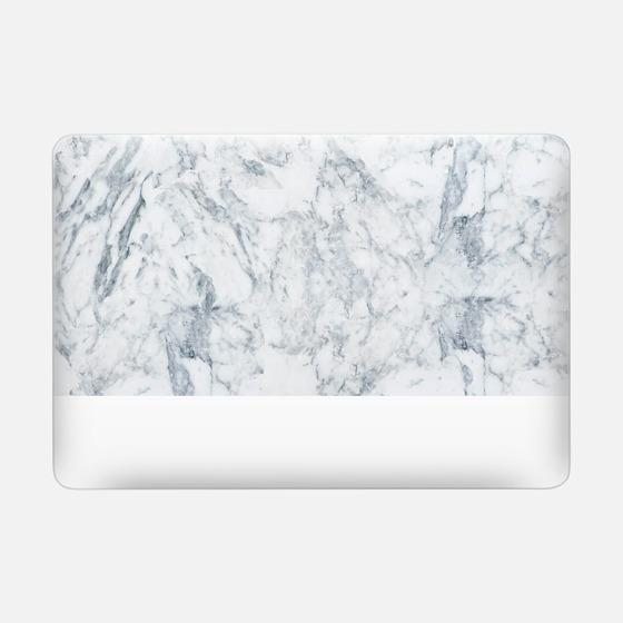 Modern blue white trendy marble texture pattern