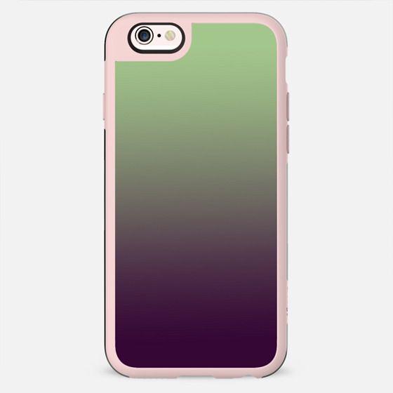 Mint green purple  ombre - New Standard Case