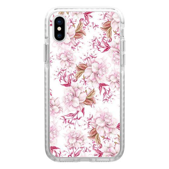 iPhone 7 Plus Cases - Modern pink blush pastel watercolor elegant floral
