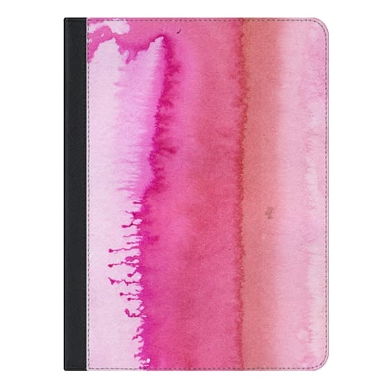 9.7-inch iPad Covers - Modern abstract blush pink watercolor paint pattern