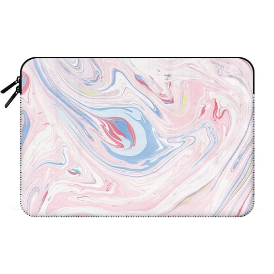 Modern pastel pink blue chic marble texture
