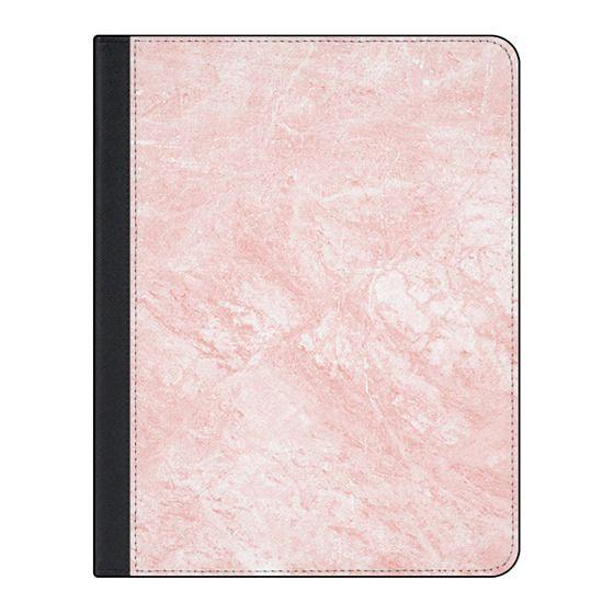 11-inch iPad Pro Covers - Blush pink white elegant modern marble