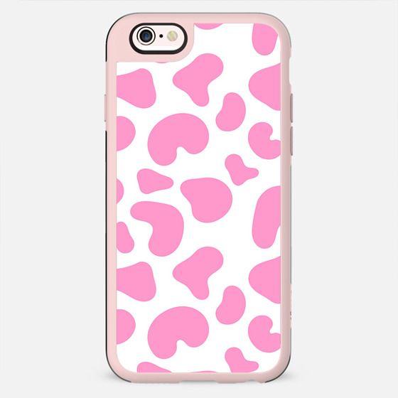 Abstract blush pink white modern geometric pattern