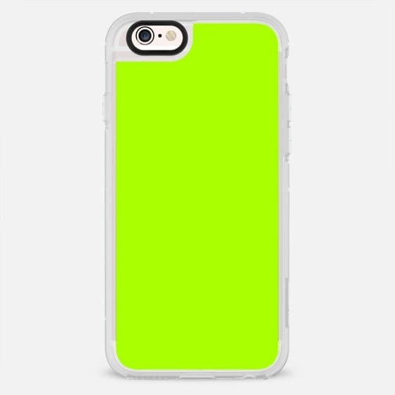 Bold fashion neon lime green colors design - New Standard Case