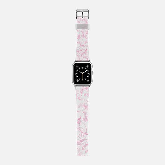 Cute pink modern watercolor nautical pattern -