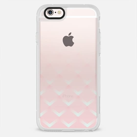 Modern pink ombre fashion checkerd pattern - New Standard Case
