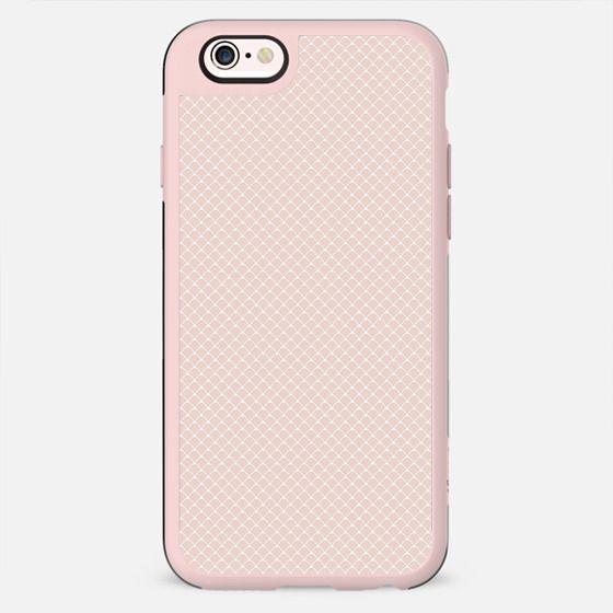 Modern pastel brown white elegant lace pattern - New Standard Case