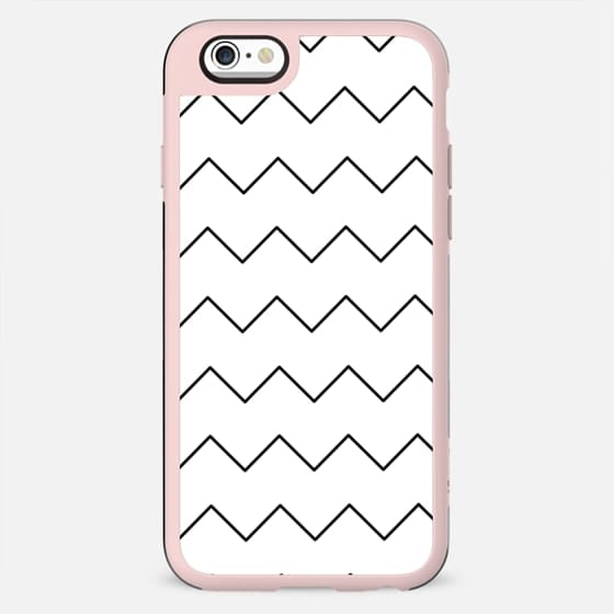 Black white geometrical minimalist chevron - New Standard Case