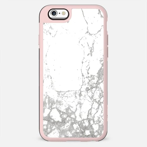 Gray white abstract modern marble pattern