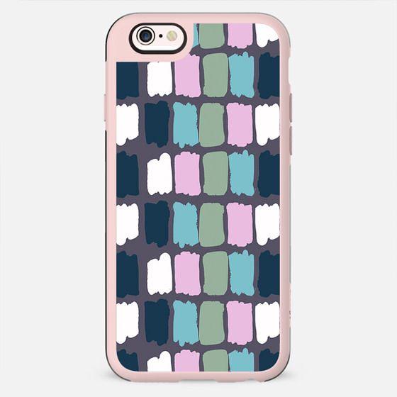 Modern mauve purple watercolor brushstrokes palette - New Standard Case