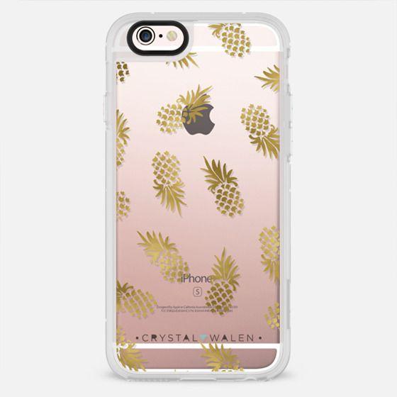 Gold Pineapple - New Standard Case