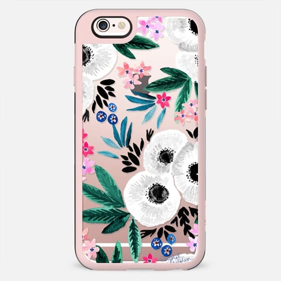 Posie Colorful Floral Clear - New Standard Case