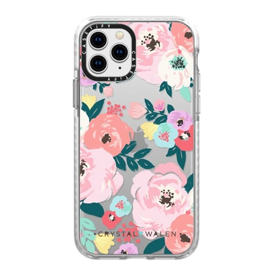 iPhone 11 Pro Cases - Lola-Floral-Clear-Romance