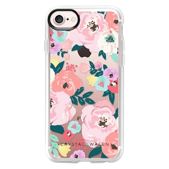 iPhone 7 Cases - Lola-Floral-Clear-Romance