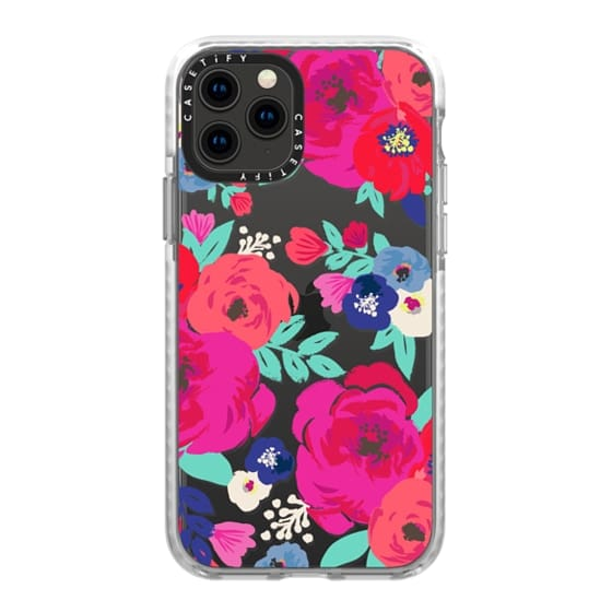 iPhone 11 Pro Cases - Sweet Pea Floral Clear