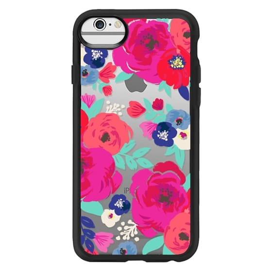 iPhone 6 Cases - Sweet Pea Floral Clear