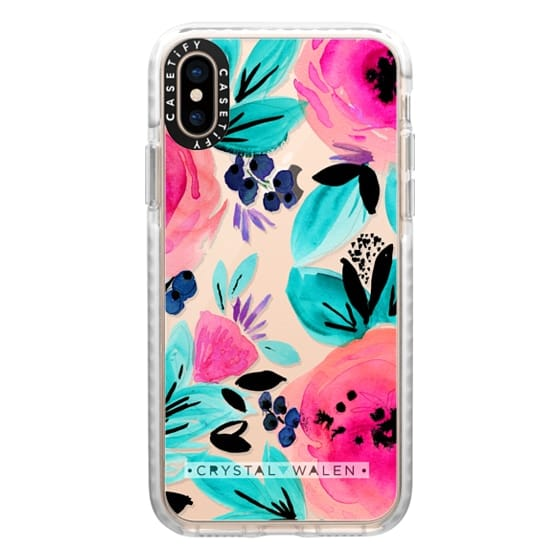 iPhone XS Cases - Savannah-Flower-by-Crystal-Walen