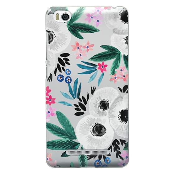 Xiaomi 4i Cases - Posie Colorful Floral Clear
