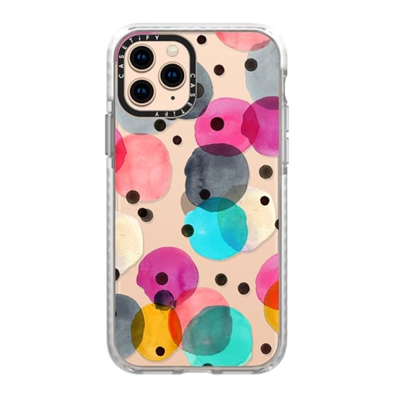 iPhone 11 Pro Cases - Festive Dots by Crystal Walen