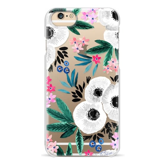 iPhone 6 Cases - Posie Colorful Floral Clear