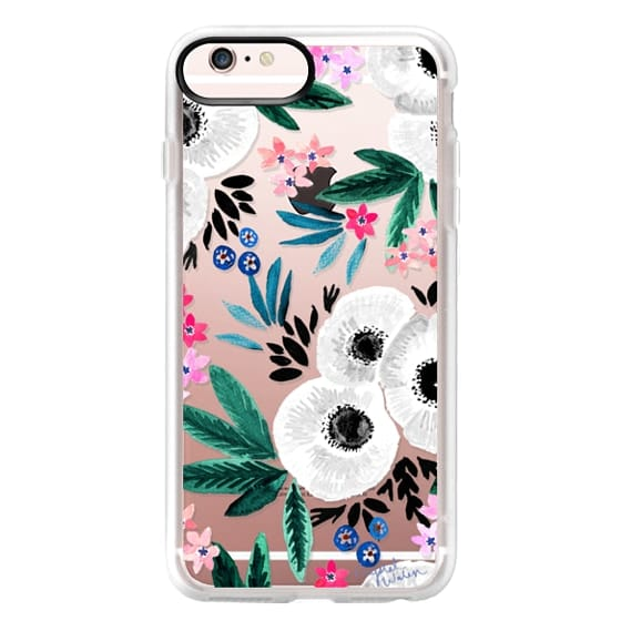 iPhone 6s Plus Cases - Posie Colorful Floral Clear