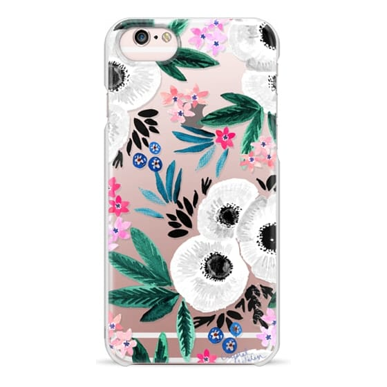 iPhone 6s Cases - Posie Colorful Floral Clear