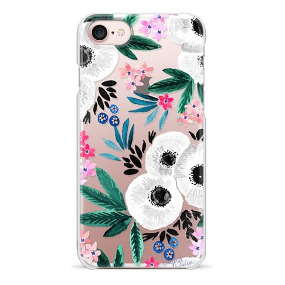 iPhone 7 Cases - Posie Colorful Floral Clear
