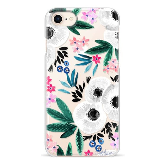 iPhone 8 Cases - Posie Colorful Floral Clear