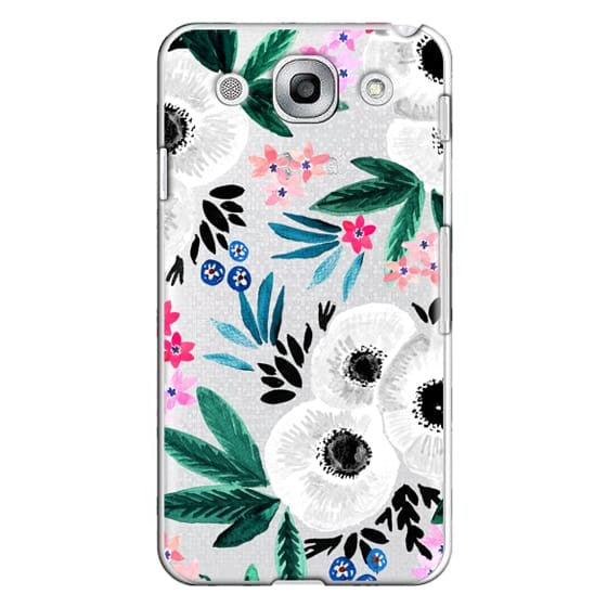Optimus G Pro Cases - Posie Colorful Floral Clear