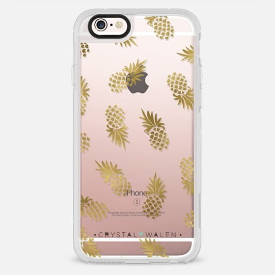 Gold Pineapple - New Standard Case