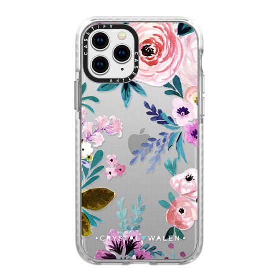 iPhone 11 Pro Cases - Moody-Victoria-Flower-Romance-Soft
