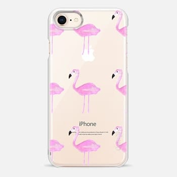 iPhone 8 Case PINK FLAMINGOS