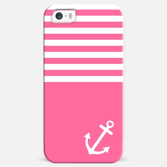 Pink Love Anchor Nautical -