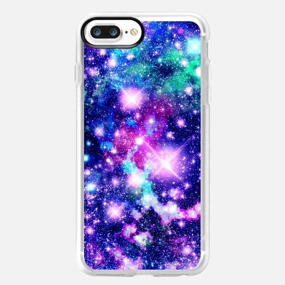 Pink and Purple Galaxy Stars - Classic Grip Case