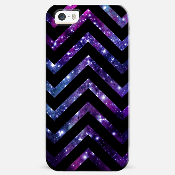 Galaxy Black Chevron  -