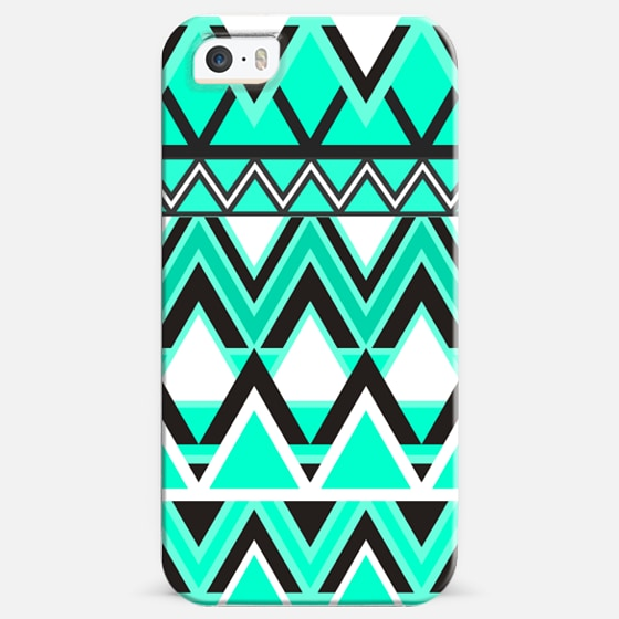 Turquoise Tribal Pattern -