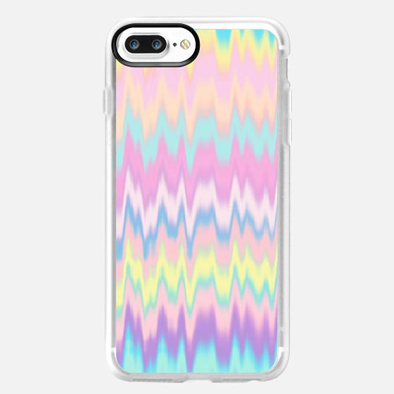 Pastel Candy Tie Dye Waves  -