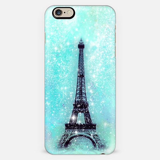 Dreamy Turquoise Eiffel Tower   -
