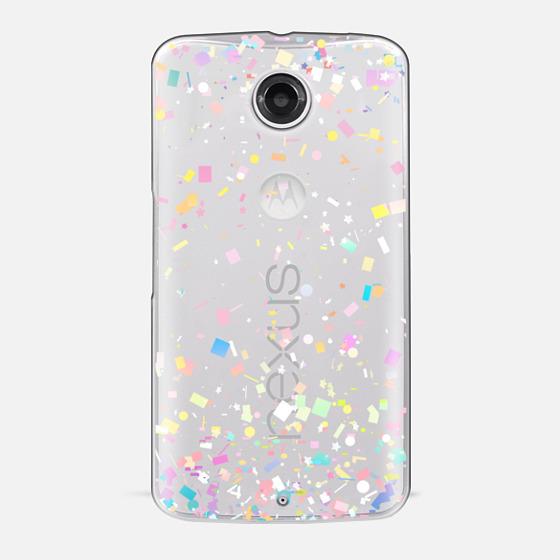 Pastel Confetti Explosion Transparent