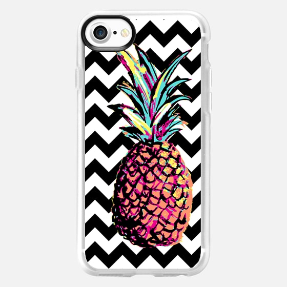 Party Pineapple Chevron - Wallet Case