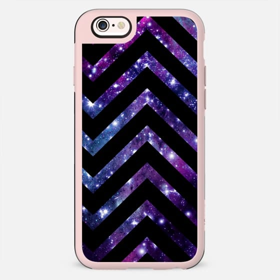 Galaxy Black Chevron - New Standard Case