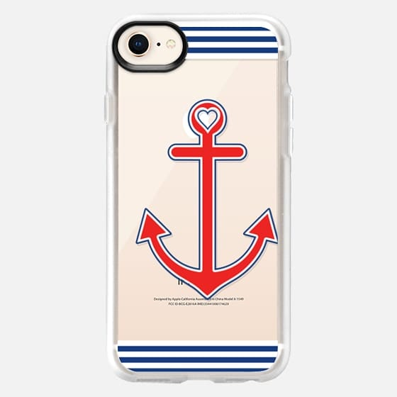 Classic Nautical Love Transparent - Snap Case