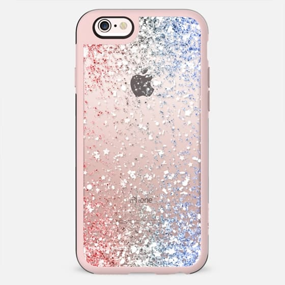 Red White and Blue Confetti Explosion  - New Standard Case