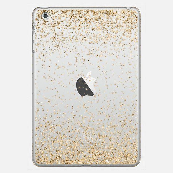 Gold Sparkly Glitter Burst  -