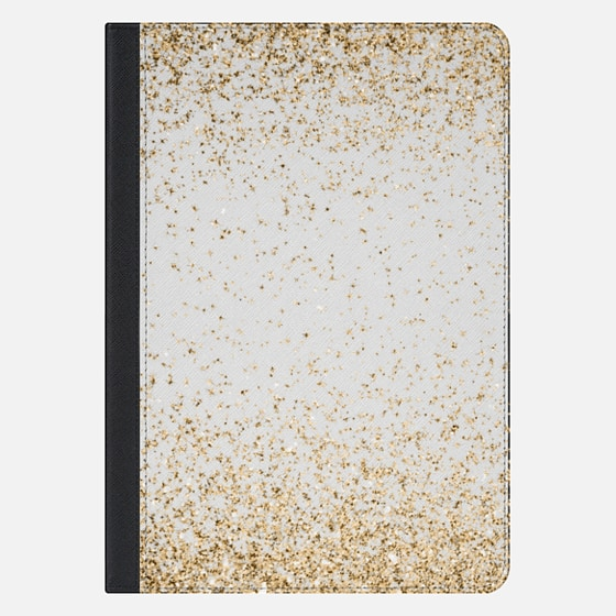 "iPad Pro 10.5"" Case - Gold Sparkly Glitter Burst"
