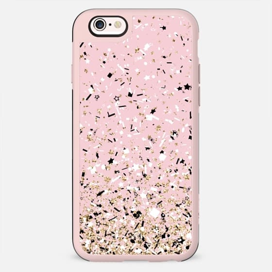Blush Pink Party Confetti Explosion - New Standard Case